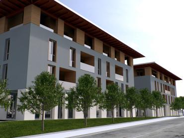 Isolato residenziale Trento - Oficina94