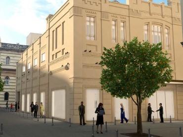 Ristrutturazione ex teatro Margherita e spazi pubblici - Oficina94