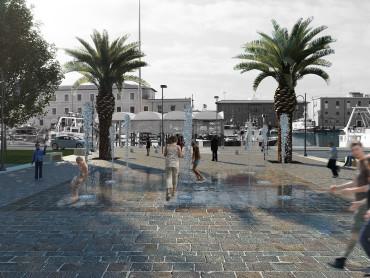Un nuovo spazio pubblico per la Darsena Medicea a Livorno - Oficina94
